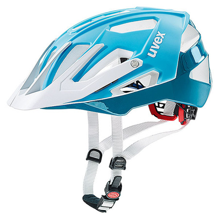 KASK ROWEROWY UVEX QUATRO Light Blue / White