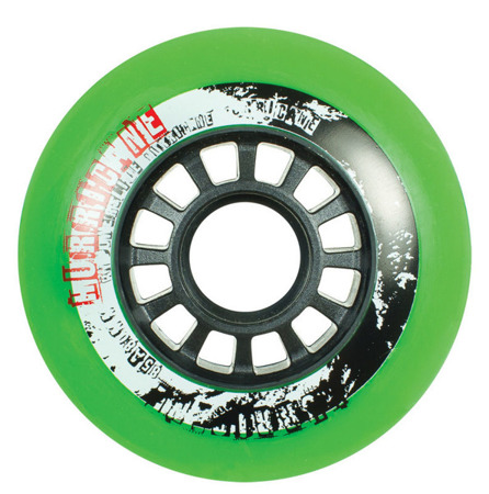 KOŁA DO ROLEK POWERSLIDE HURRICANE Green 80 mm 85A