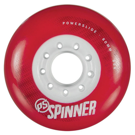 KOŁA DO ROLEK POWERSLIDE SPINNER Red 80 mm 85A