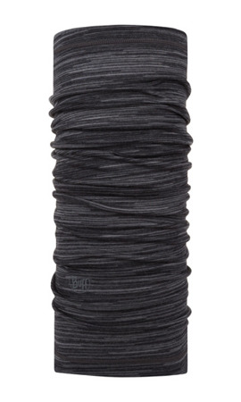 BUFF MERINO WOOL LIGHTWEIGHT CASTLEROCK GREY MULTI STRIPES