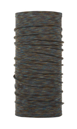BUFF MERINO WOOL MIDWEIGHT Fossil Multi Stripes