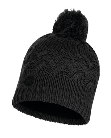 CZAPKA BUFF KNITTED & FULL POLAR HAT SAVVA BLACK