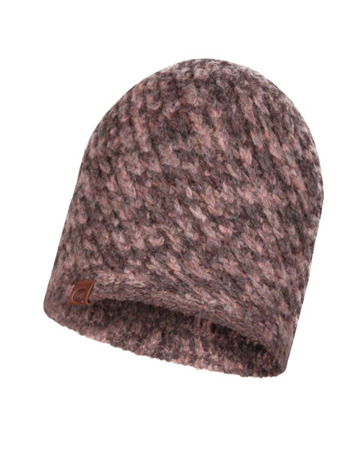 CZAPKA BUFF KNITTED HAT KAREL HEATHER ROSE
