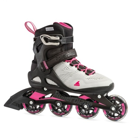 DAMSKIE ROLKI FITNESS ROLLERBLADE MACROBLADE 80 W Cool Grey / Candy Pink 2019