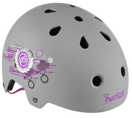 JUNIORSKI KASK NA ROLKI POWERSLIDE ALLROUND PHUZION 1 Grey