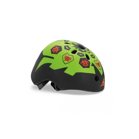 JUNIORSKI KASK NA ROLKI ROLLERBLADE TWIST JR HELMET Black / Lime 2019