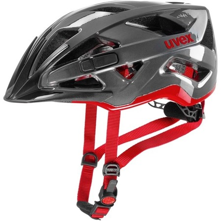 KASK ROWEROWY UVEX ACTIVE Anthracite Red