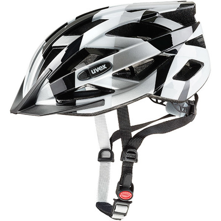 KASK ROWEROWY UVEX AIR WING Black - White