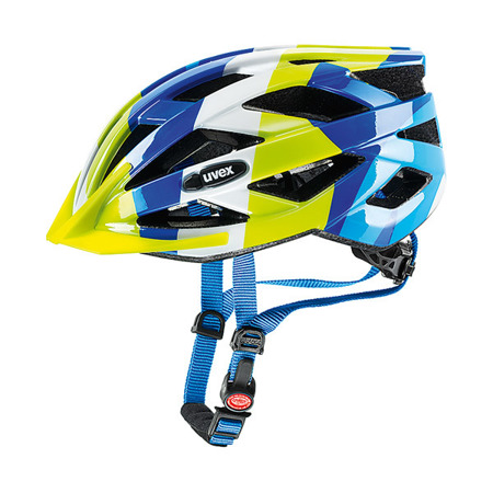 KASK ROWEROWY UVEX AIR WING Blue - Green