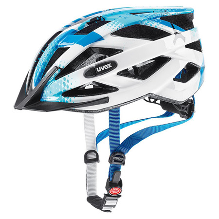 KASK ROWEROWY UVEX AIR WING Blue - White 2020