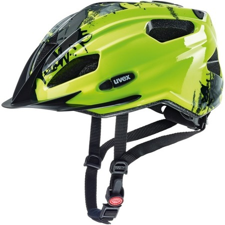 KASK ROWEROWY UVEX QUATRO JUNIOR Neon Yellow / Black