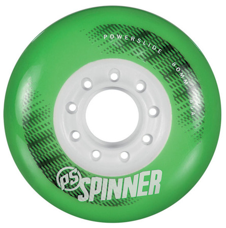 KOŁA DO ROLEK POWERSLIDE SPINNER Green 80 mm 85A 4 sztuki