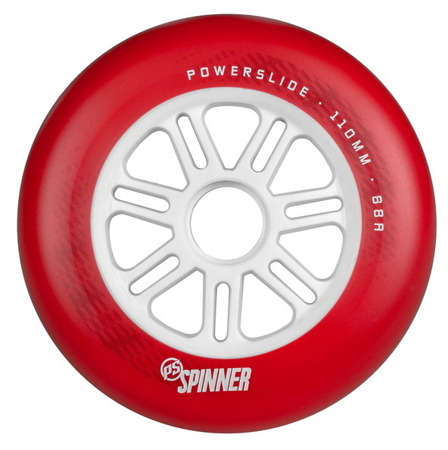 KOŁA DO ROLEK POWERSLIDE SPINNER White 110 mm 88 A 1 sztuka
