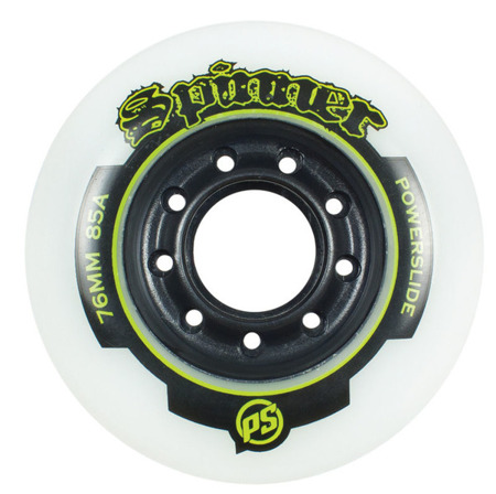 KOŁA DO ROLEK POWERSLIDE SPINNER White 84 mm 85A