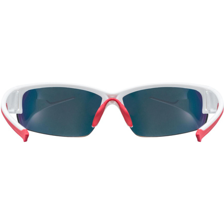 OKULARY ROWEROWE UVEX SPORTSTYLE 215 WHITE MAT RED