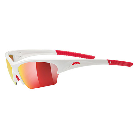 OKULARY ROWEROWE UVEX SUNSATION WHITE RED