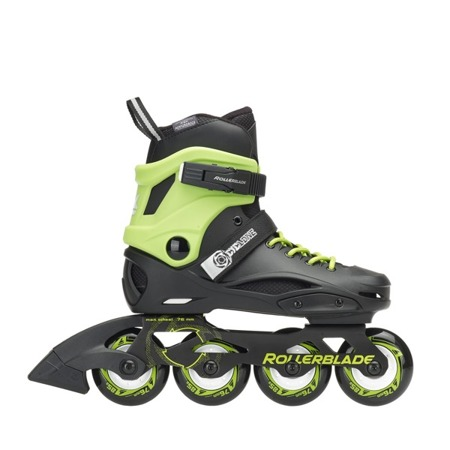 REGULOWANE ROLKI JUNIORSKIE ROLLERBLADE CYCLONE Black/Acid Green 2018