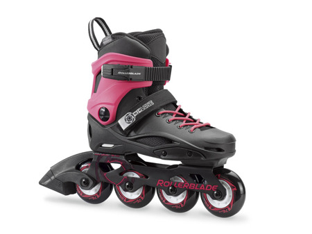 REGULOWANE ROLKI JUNIORSKIE ROLLERBLADE CYCLONE Black/Pink 2018
