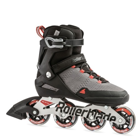 ROLKI MĘSKIE ROLLERBLADE SPARK 80 Grey / Burnt Orange 2019