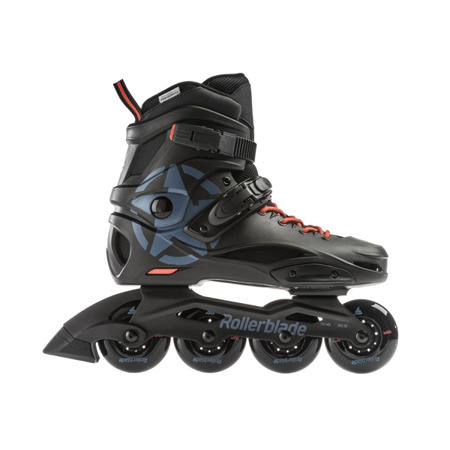 ROLKI MIEJSKIE ROLLERBLADE RB CRUISER Black / Grey Blue 2019