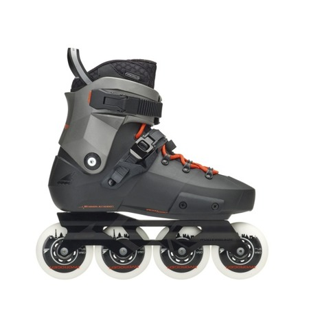 ROLKI ROLLERBLADE TWISTER EDGE X Black/Metallic Grey 2019